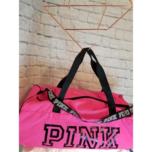 Victoria s Secret PINK  Duffle Bag + Water Bottle  646bbde819741